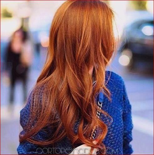 50 maneras asombrosas de peinar el cabello de cobre
