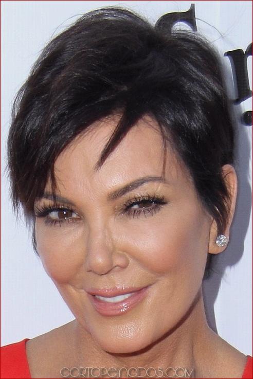 35 peinados cortos con flequillo para las mujeres