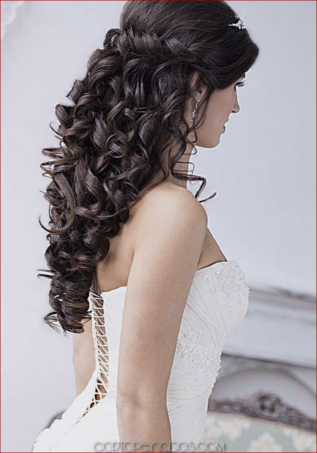 Los 22 Peinados De Boda Mas Elegantes Para Cabello Largo