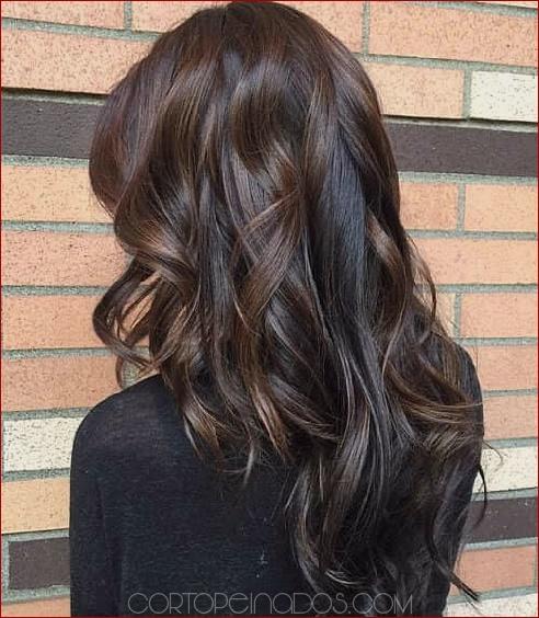 Cortes de cabello en capas estilo v