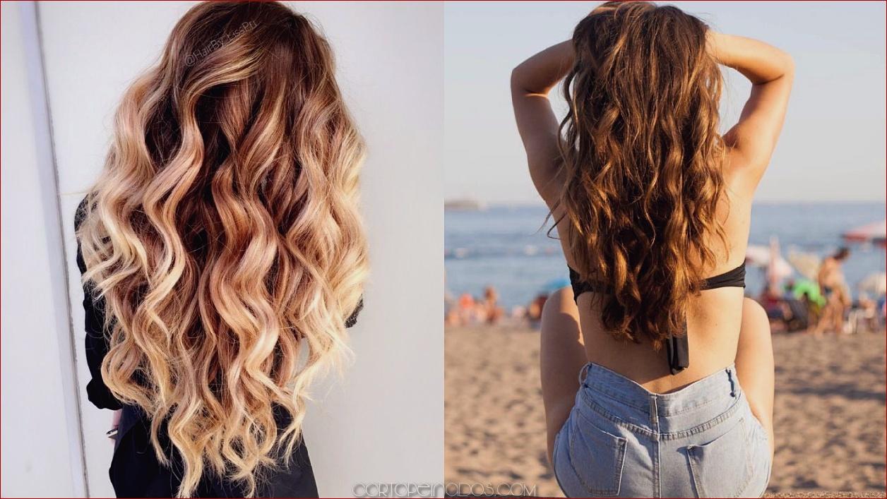 35 preciosos estilos para obtener ondas de playa en tu cabello -  Cortopeinados.com