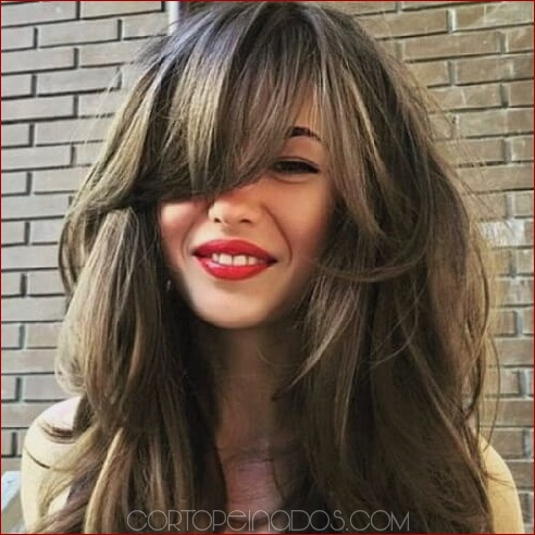 50 maneras perfectas de rock Side Bangs