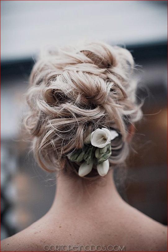 Los 25 peinados de boda más elegantes que parecen rizados