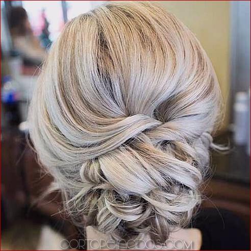 50 peinados sublimados con moño