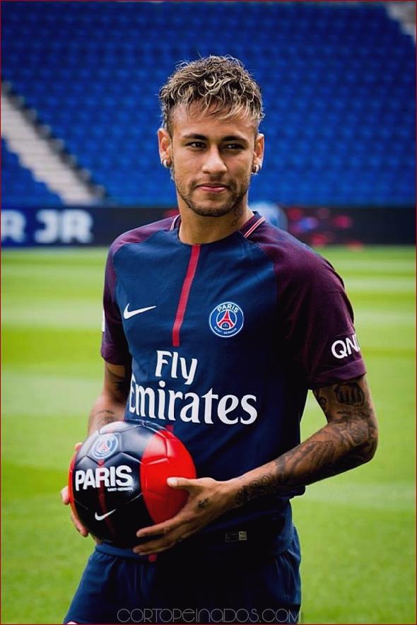 75 Celebred Neymar Corte De Pelo Para Este Año