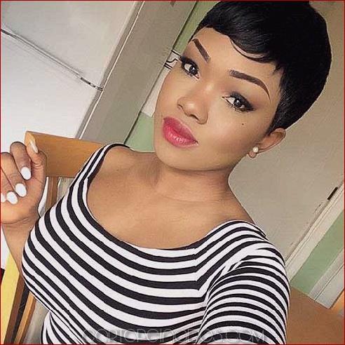 50 espléndidos peinados cortos para mujeres negras