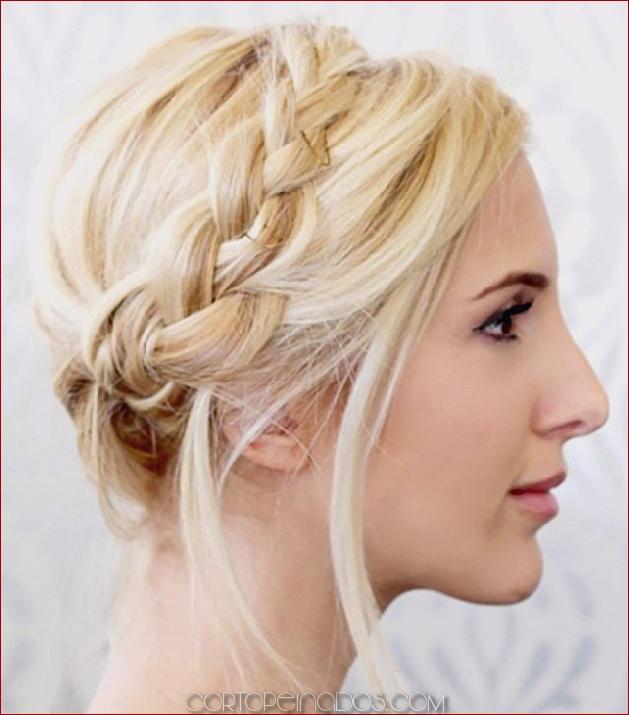 31 lindos y elegantes peinados trenzados para mujer