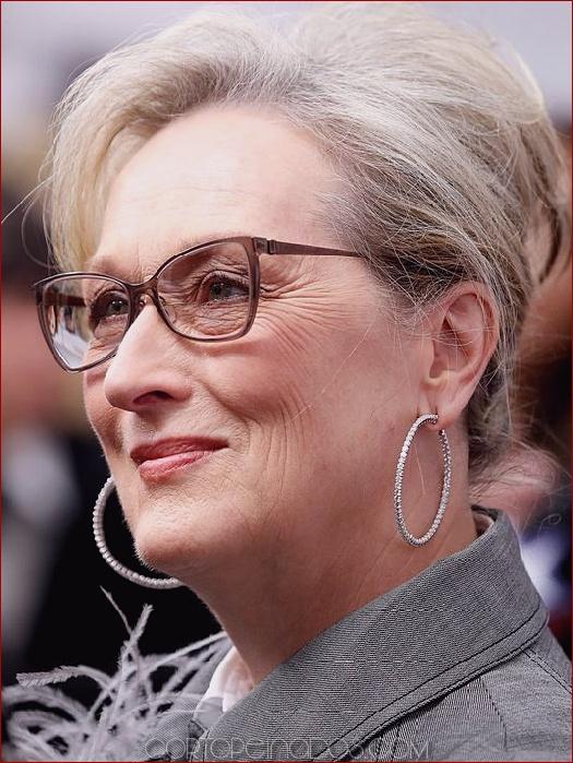 15 Peinados Para Mujeres Mayores De 50 Anos Con Gafas
