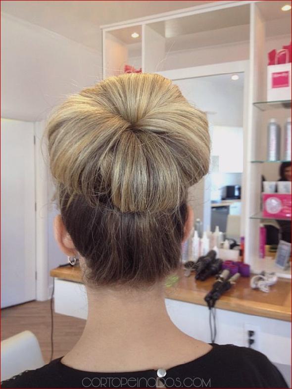 Hermosos peinados de baile para cabello largo