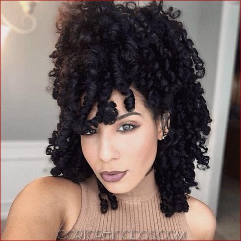50 lindos peinados naturales para el cabello con textura afro