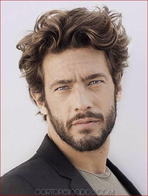 45 Asombrosos Peinados Rizados Para Hombres Inspiración E