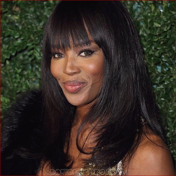 32 exquisitos peinados largos para mujeres negras