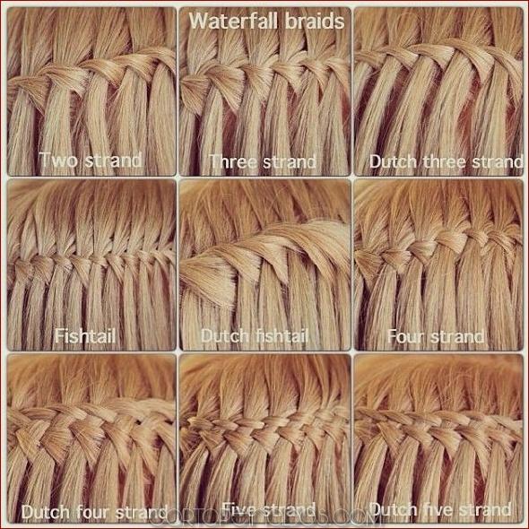 120 estilos elegantes de trenza en cascada que debes probar ahora