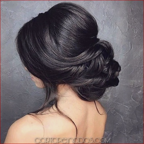 50 peinados inolvidables de boda para cabello largo
