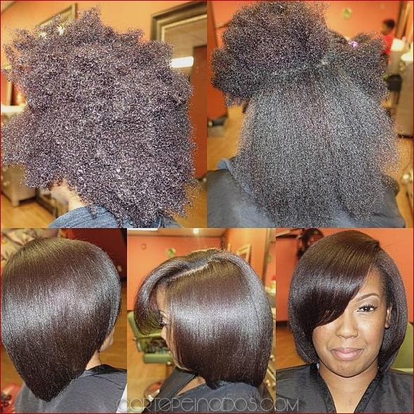 Cortes de pelo naturales para mujeres negras