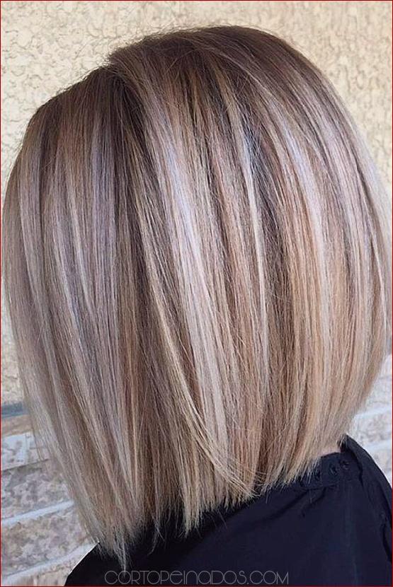 Cortes de pelo bob corto para mujeres
