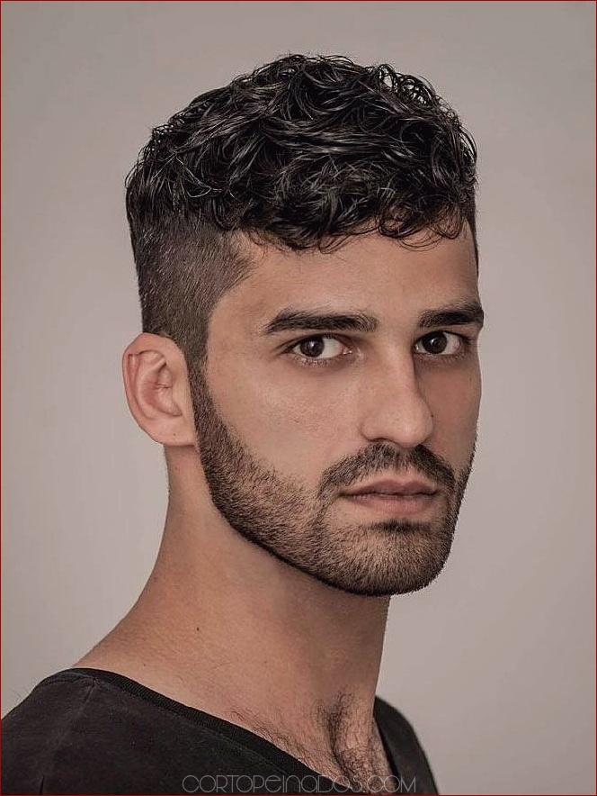 18 Peinados Rizados Para Hombres Con Aspecto Carismático
