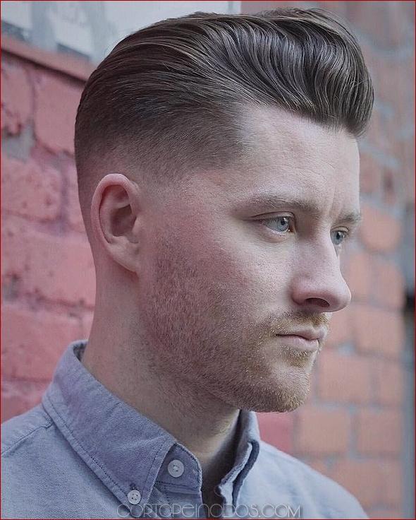 Transformaciones creativas del corte de pelo de Pompadour