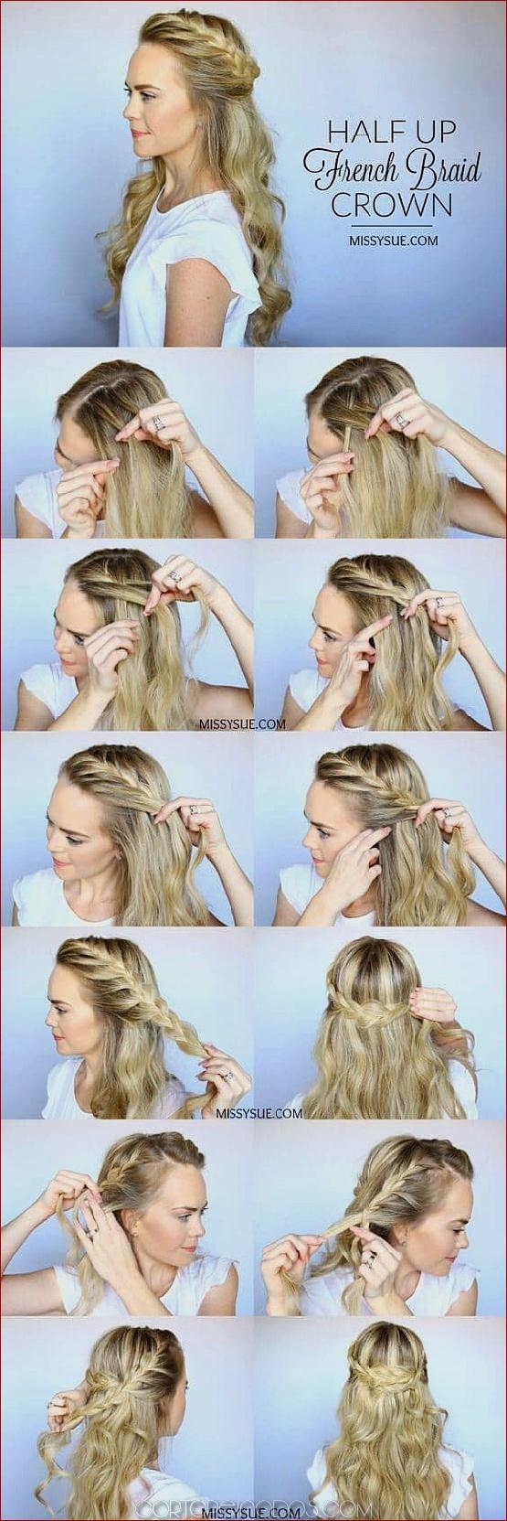 27 magníficamente preciosos peinados a media altura