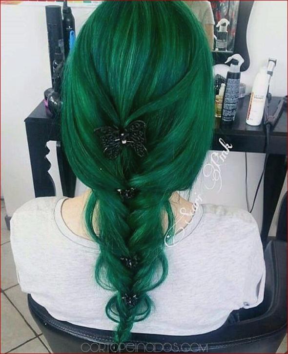 Como tenir el pelo color verde