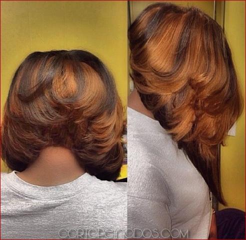 50 Bob Hairstyles para mujeres negras