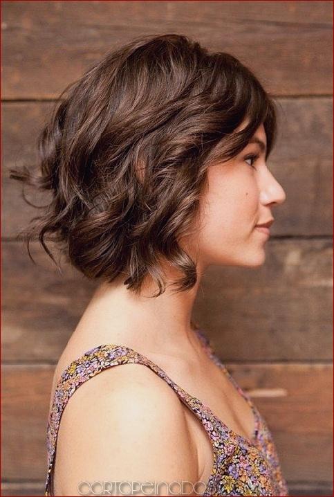 Cortes de pelo cabello ondulado corto