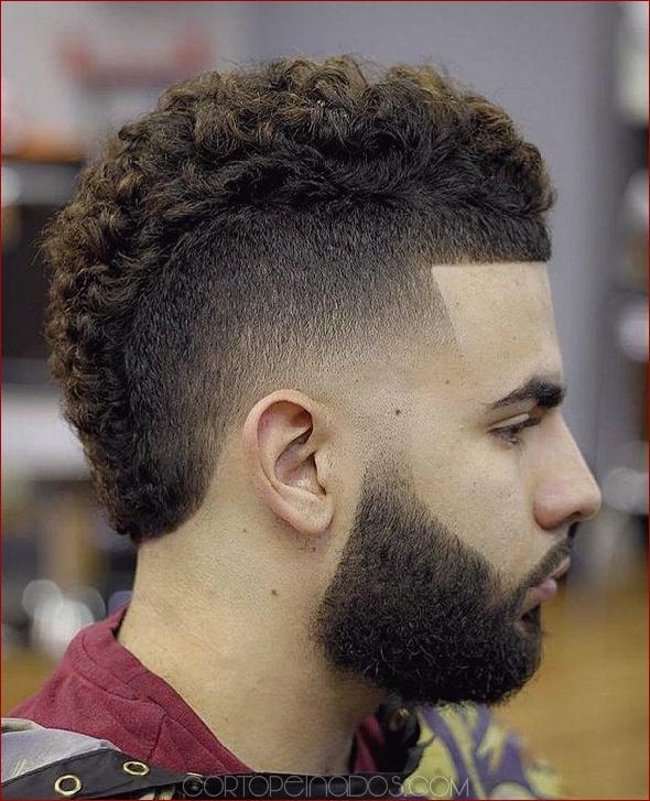 Corte de pelo estilo moja