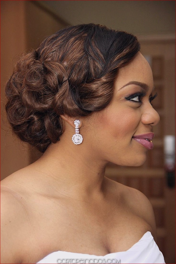 30 peinados de boda para las mujeres negras