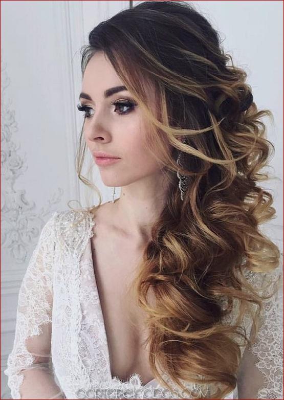 Los 22 Peinados De Boda Más Elegantes Para Cabello Largo
