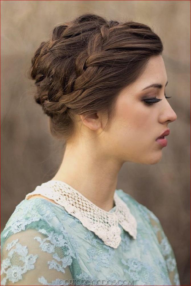 Hermoso peinados mujer pelo largo Imagen De Tendencias De Color De Pelo - 15 Prom Updos peinados para cabello largo mujer ...