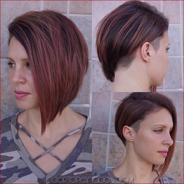 Peinados cortados por debajo de la mujer 2019