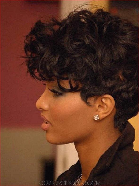 Peinados cortos para mujeres negras