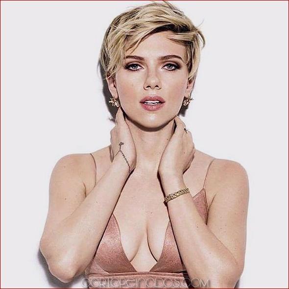 Scarlett Johansson pelo corto: Últimos peinados