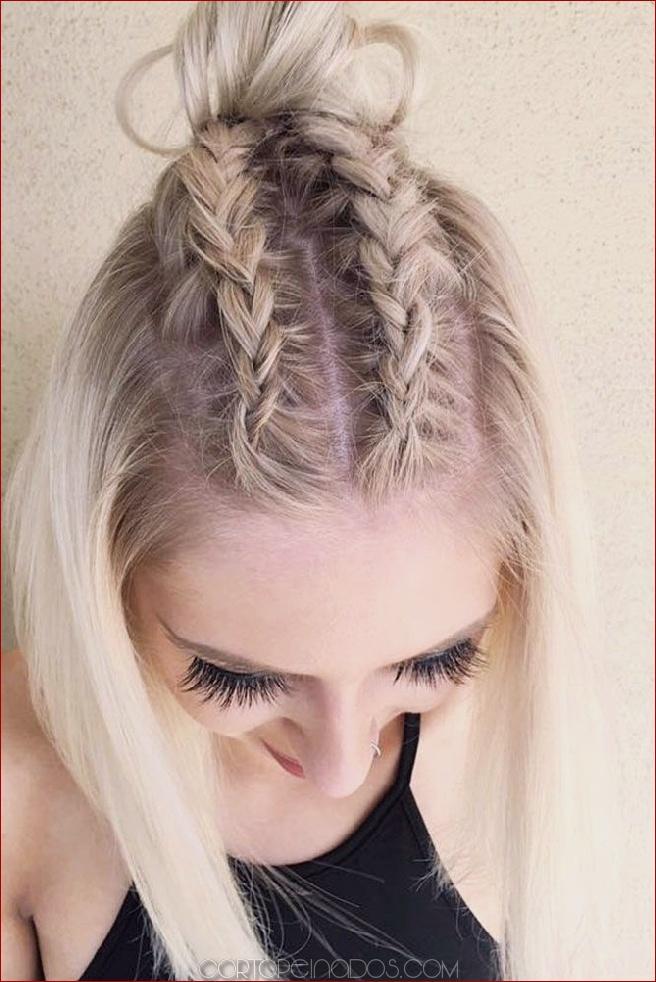 17 Peinados Trenzados Para Cabello Corto Luce Más Hermoso