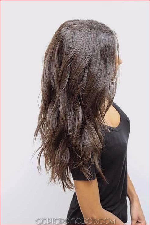 50 increíbles inspiraciones de peinado largo