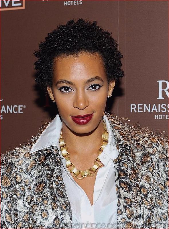 20 deslumbrantes peinados afro rizados cortos para mujeres