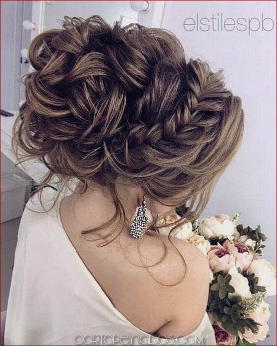 27 impresionantes inspiraciones de peinado de boda