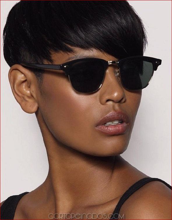 18 impresionantes peinados cortos para mujeres negras