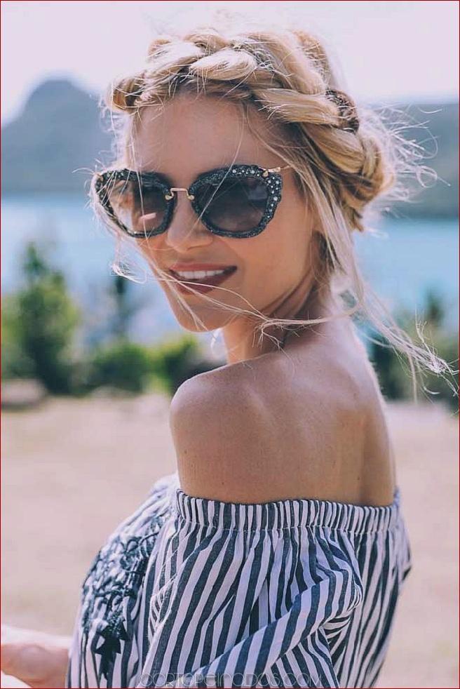 30 Updos para el pelo corto para hacerte lucir irresistible