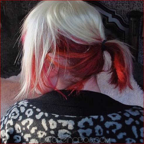 50 ideas para el cabello en dos tonos