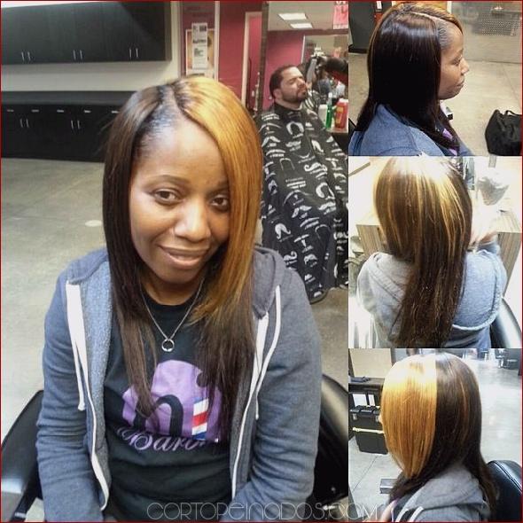 Peinados largos para mujeres negras