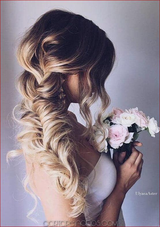 27 preciosos peinados de trenzas de boda para tu gran día