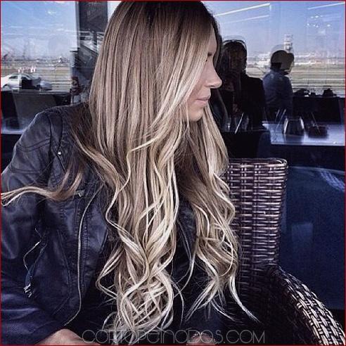 Los peinados Ombre más impresionantes para cabello largo