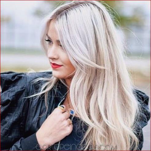 50 maneras extraordinarias de rockear el pelo largo con flequillo