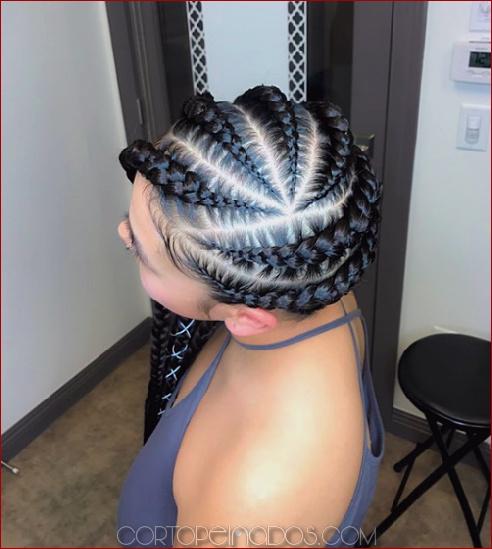 50 peinados naturales para el cabello de longitud media