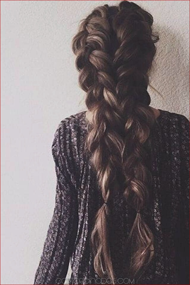 50 preciosas trenzas peinados para cabello largo