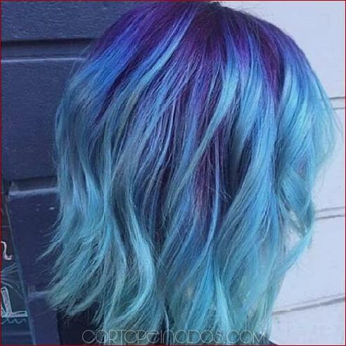50 fabulosas sugerencias de cabello púrpura