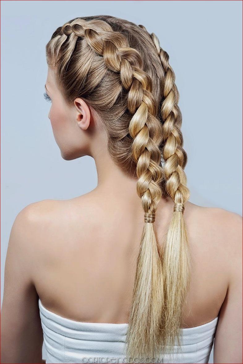 Atrevido y bonito peinados trenzas Colección de tendencias de color de pelo - 21 peinados con trenza francesa: todo lo que necesitas ...