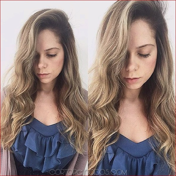 85 consejos de moda Cómo peinar el pelo largo y recto