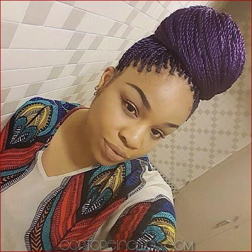 50 sensacionales ideas de peinado senegalés